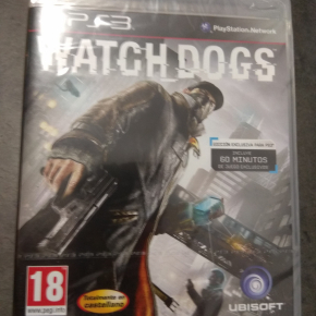 Watch Dogs PAL ESP PS3 Nuevo