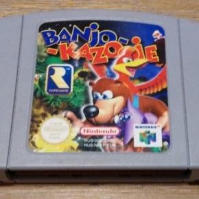 Banjo-Kazooie N64 Pal esp