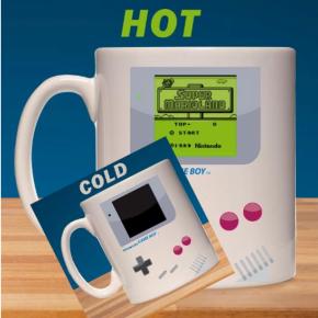 Nintendo Game Boy Taza sensitiva al calor Super Mario Land