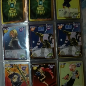 100 cartas del manga/anime Shaman King