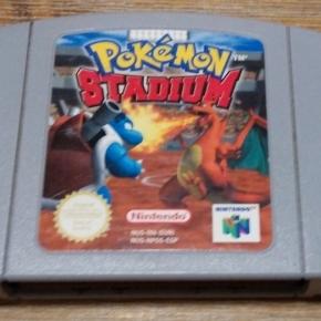 Pokemon Stadium N64 Pal esp
