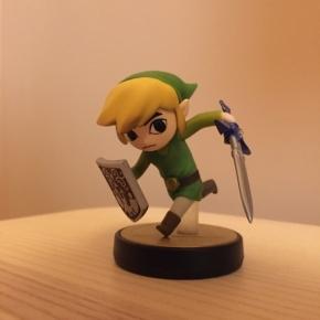 Amiibo Toon Link (Colección Super Smash Bros)