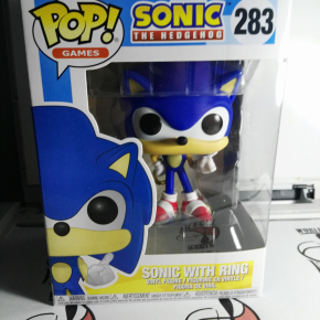 Funko Pop! Sonic con el anillo (Sonic the Hedgehog) (283)