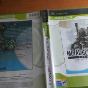 METAL GEAR SOLID 2 SUBSTANCE PAL ESPAÑA XBOX