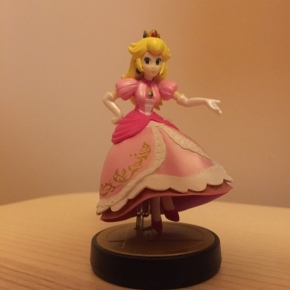 Amiibo Peach (Colección Super Smash Bros)