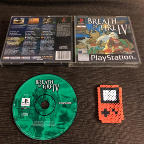 JUEGO BREATH OF FIRE IV SIN MANUAL SONY PLAY STATION