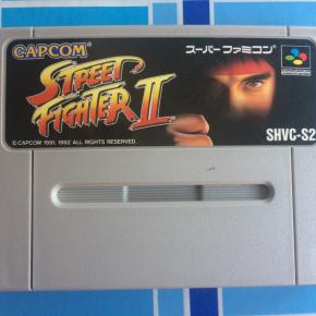 JUEGO STREET FIGHTER 2 SUPER FAMICOM JAPONESA SUPERNES