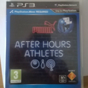 AFTERS HOURS ATHLETE PS3 PLAYSTATION 3 PAL UK COMPLETO MUY BUEN ESTADO MOVE