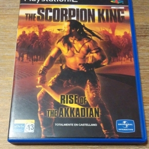 The Scorpion king Rise of the Akkadian Pal ESP