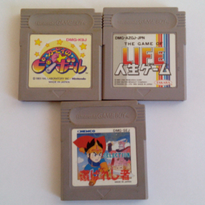 GAMEBOY LOTE KIRBY'S PINBALL, THE GAME OF LIFE Y SELECTION GAME BOY