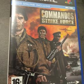 Commandos Strike Force Pal ESP PS2
