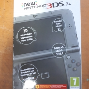 NEW NINTENDO 3DS XL NEGRO METAL