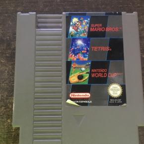 3 en 1 NES PAL B españa: NES - ZZ - ESP Super Mario bros Tetris Nintendo World cup