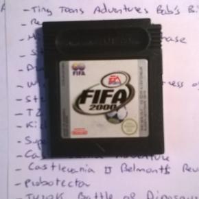 EA SPORTS FIFA 2000 GB GAMEBOY ULTIMO FIFA LANZADO EN GAMEBOY 100% ORIGINAL MBE