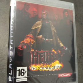 Hellboy The science of Evil PAL ESP PS3 Nuevo