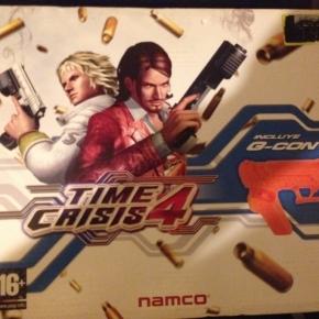 Time crisis 4 en caja con pistola