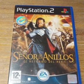 El señor de los anillos: El retorno del rey PS2 Pal Esp