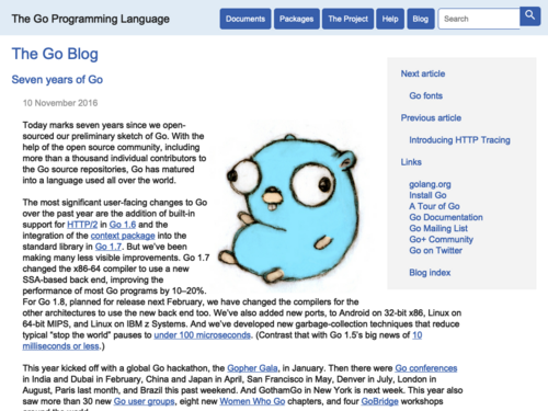 Popular resources on Golang