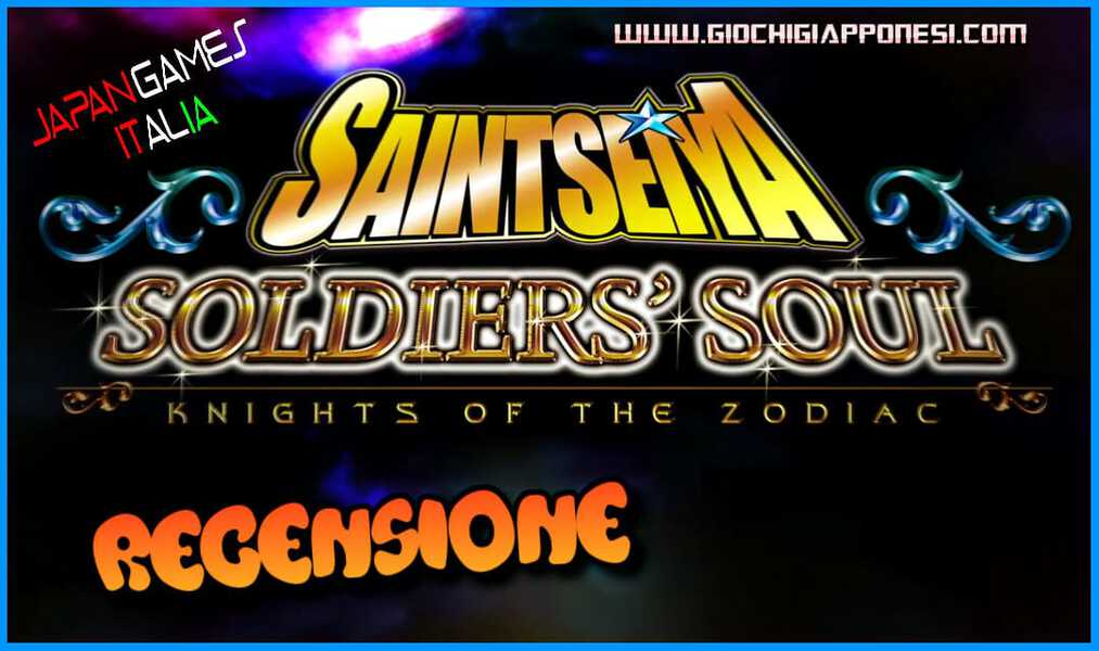 Saint Seiya Soldiers Soul Recensione cover