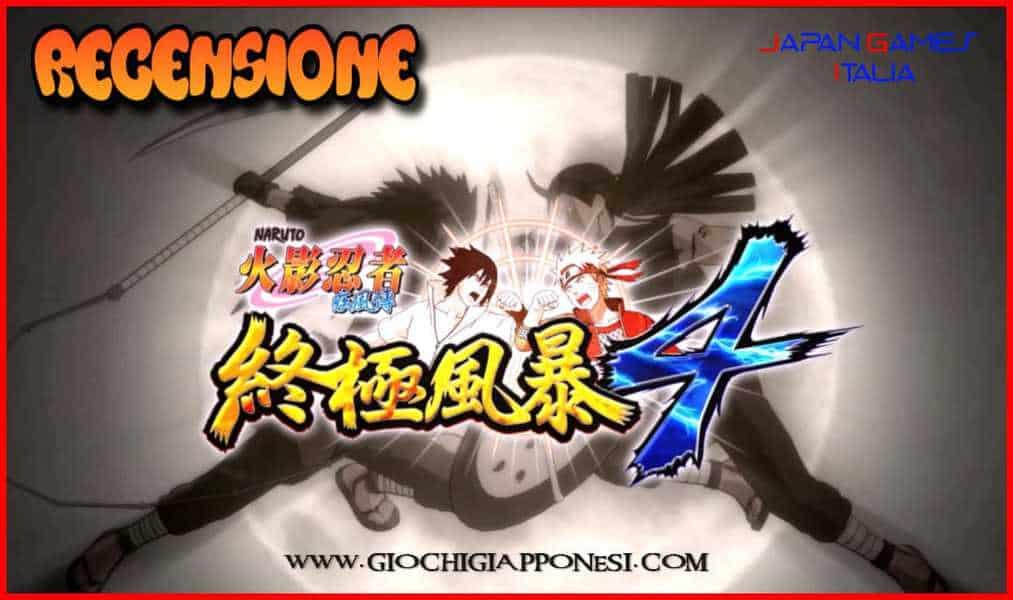 Naruto Ultimate Ninja Storm 4 Recensione