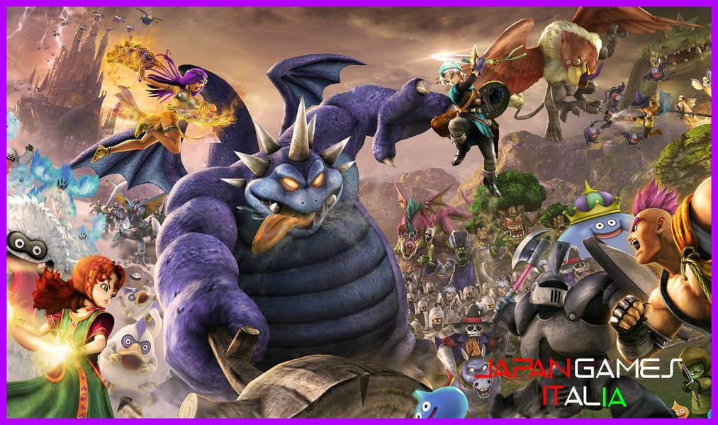 il Multiplayer di Dragon Quest Heroes II