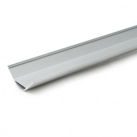 Perfíl de Aluminio Cuadrado para Tira de LEDs Difusor Opal 2 Metros (copy) (copy) (copy)
