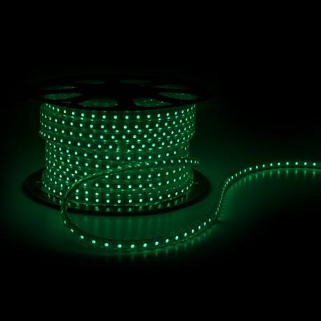 Tira de 60 LEDs/M 220VAC SMD5050 IP65 RGB