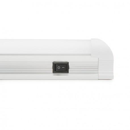 Regleta T5 de LEDs con Interruptor 600mm 10W 1000Lm 30.000H