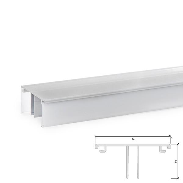 Perfíl Aluminio para Tira LED A4420 Iluminación Arriba/Abajo  x...