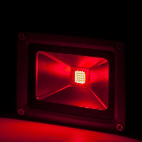 Foco Proyector de LEDs para Exterior 10W RGB con Mando Distancia