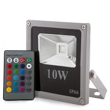 Foco Proyector de LEDs para Exterior 10W 700lm 30.000H ECOLINE