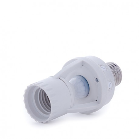 E27 Adapter with Movement and Day/Night Sensor