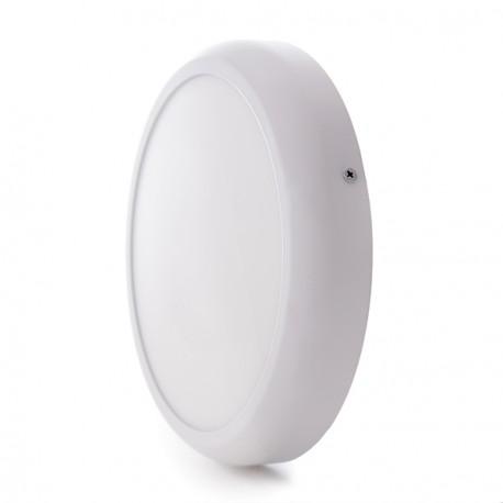 """Plafón de Techo de LEDs Circular de Superficie """"STYLE"""" 225mm 18W 1440Lm 30.000H"""