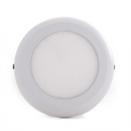 """Plafón de Techo de LEDs Circular de Superficie """"STYLE"""" 120mm 6W 470Lm 30.000H"""