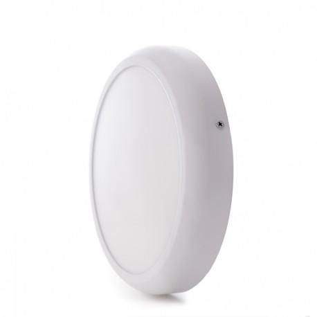 """Plafón de Techo de LEDs Circular de Superficie """"STYLE"""" 174mm 12W 960Lm 30.000H"""