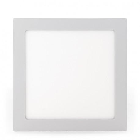 Plafón de Techo de LEDs Cuadrado de Superficie 300mm 24W 1900Lm 30.000H
