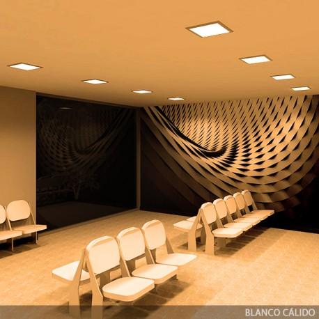 ECOLINE LED Panel 300x300x12mm 12W 1000Lm 30.000H