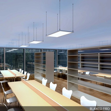 ECOLINE LED Panel 600x600x12mm White Frame 22W 2100Lm 30.000H