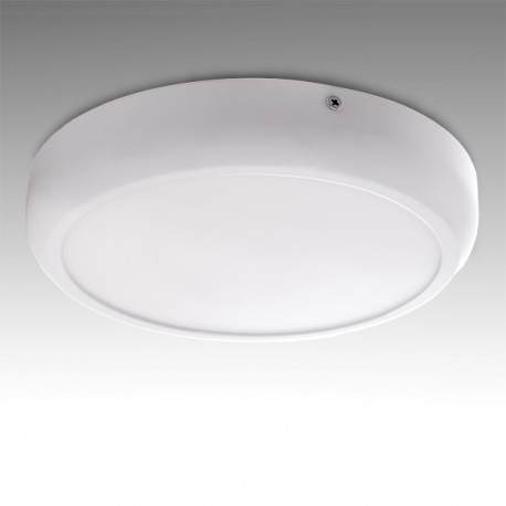 "Pack of 2 Circular Surface Mounted LED Ceiling Lamp """"STYLE"""" 220mm 18W 1440Lm 30.000H"