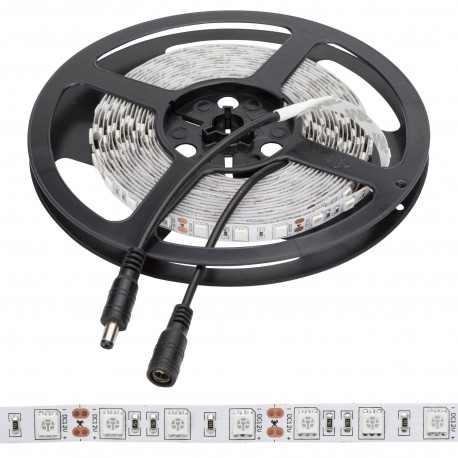 PACK OF 2 300 LED STRIPS SMD5630 12VDC 5M INDOOR WITH TRANSFORMADORS AND DIMMER
