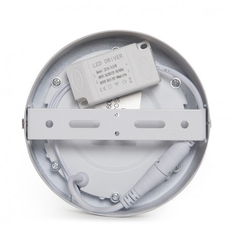 Circular Surface Mounted LED Ceiling Lamp Ø120mm 12VDC 6W 470Lm 30.000H