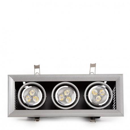 Rectangular LED Downlight 9W 900Lm 30.000H