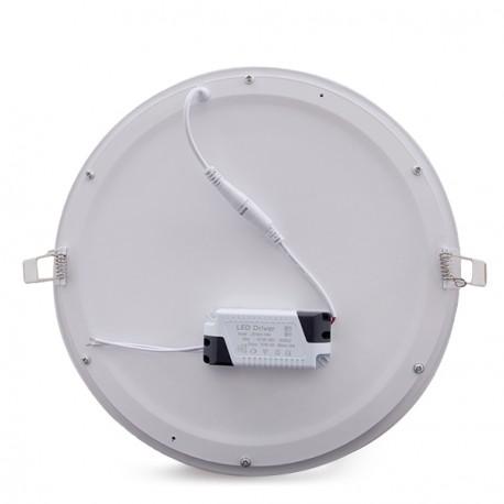ECOLINE Circular LED Slimline Downlight 295mm 25W 2000Lm 30.000H
