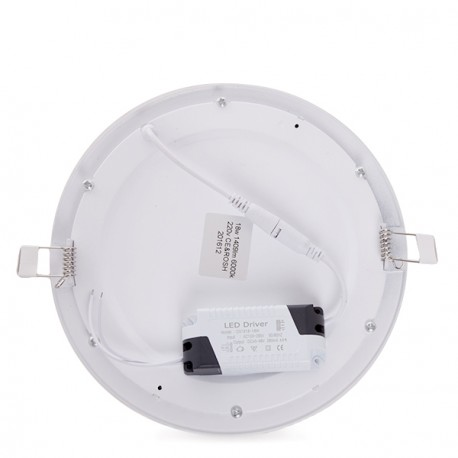 Downlight a LED Circolare Slim ECOLINE 225mm 18W 1409Lm 30.000H
