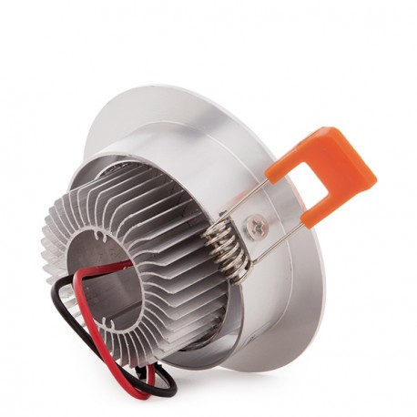 ECOLINE Circular LED Downlight 3W 300Lm 30.000H