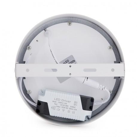 Σετ 4 Στρογγυλη Επιφανιακη LED Λαμπα για ταβανη Ø169χιλιοστά 12W 930Lm 30.000H