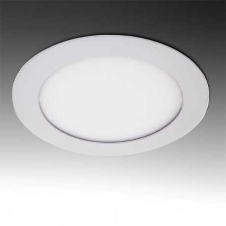 Pack of 4 ECOLINE Circular LED Slimline Downlight 120mm 6W 400Lm 30.000H