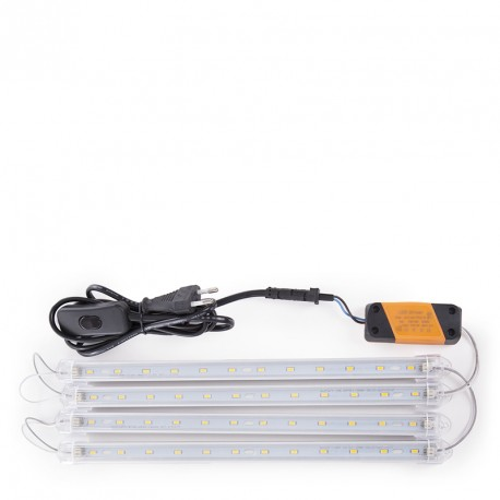 Set of 4 300mm LED Bars for Cupboards. With Transformer