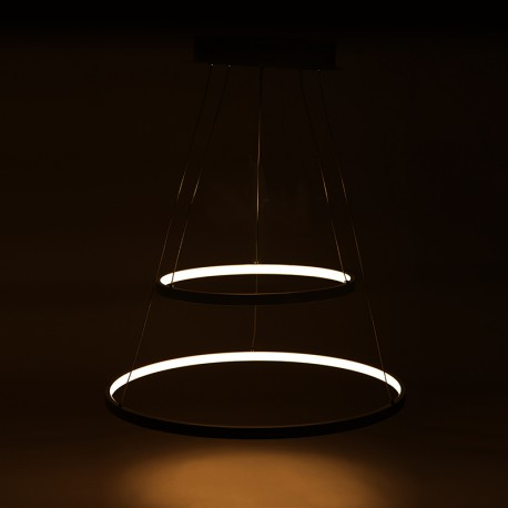 "Suspended lamp with LEDs ""Circle"" 62W 4810Lm"