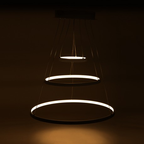 """Suspended lamp with LEDs """"Circle"""" 96W 8000LM"""
